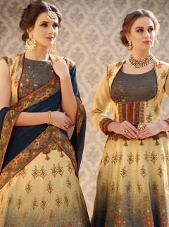 Admirable Look Banarasi Silk Designer Lehenga Choli
