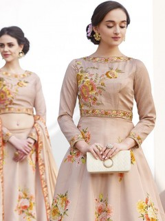 Adorning Look Satin Silk Designer Lehenga Choli