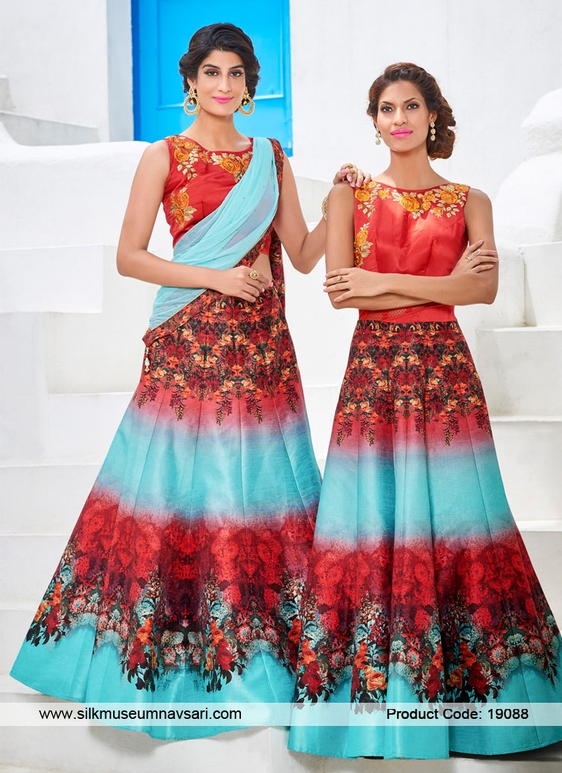 Affluent Look Silk Party Wear Designer Suit