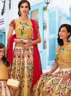 Appealing Flower Pring Party Lehenga Choli