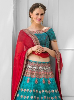 Awesome Look Silk Printed Party Wear Lehenga Choli