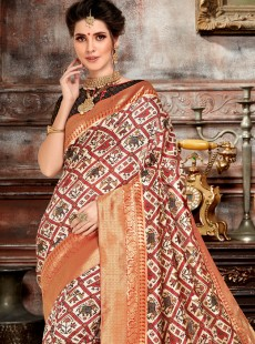 Charming Patora Silk Designer Saree