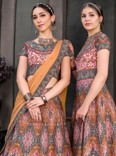 Classical Pure Heritage Silk Lehenga Choli