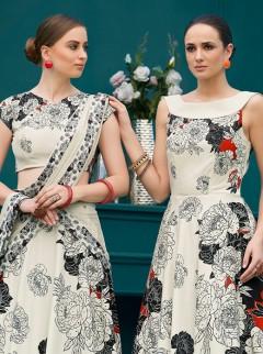 Elegant Look Pure Silk Designer Lehenga Choli