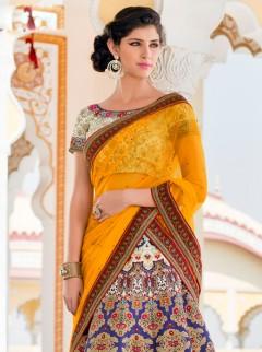 Elegant Look Silk Printed Designer Lehenga Choli