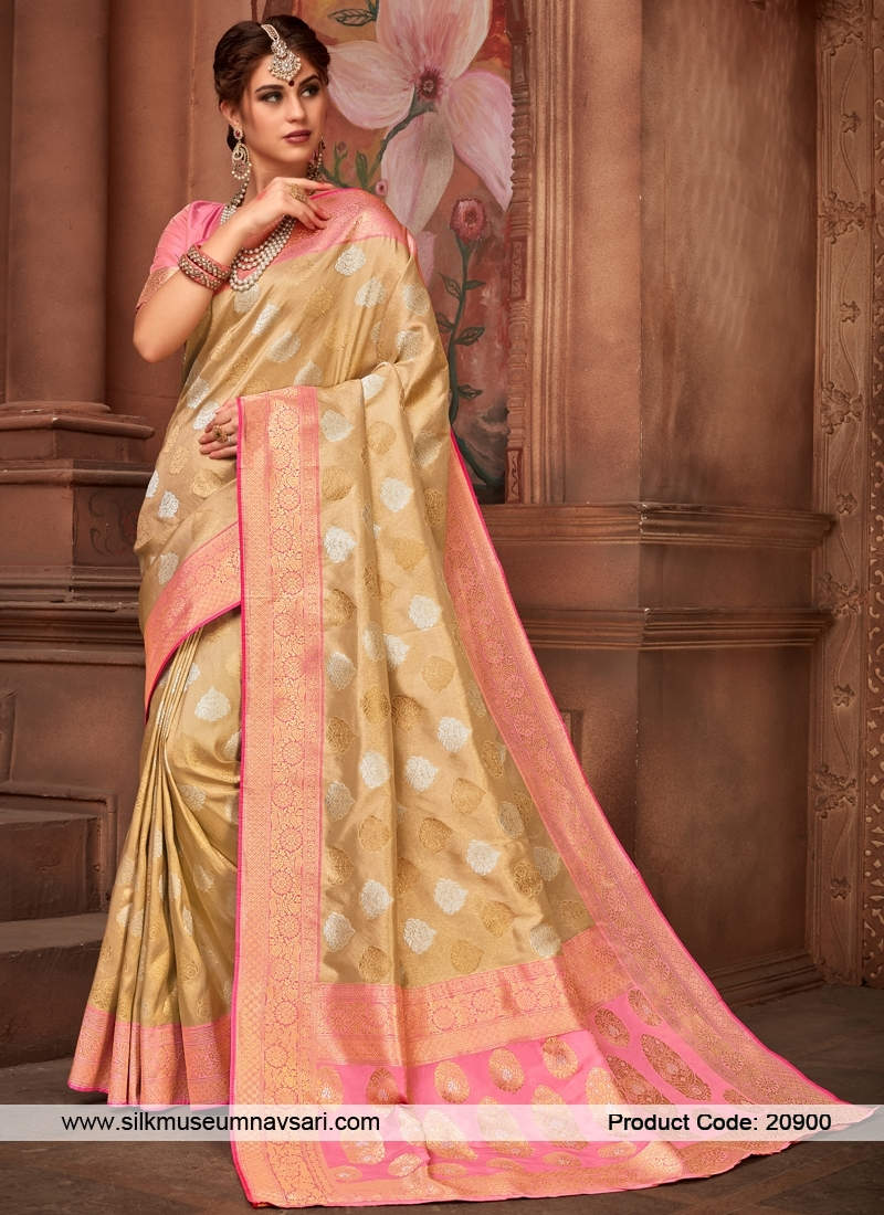 Exclusive Butta Work Designer Silk Saree