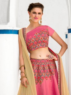 Gorgeous Look Silk Printed Designer Lehenga Choli
