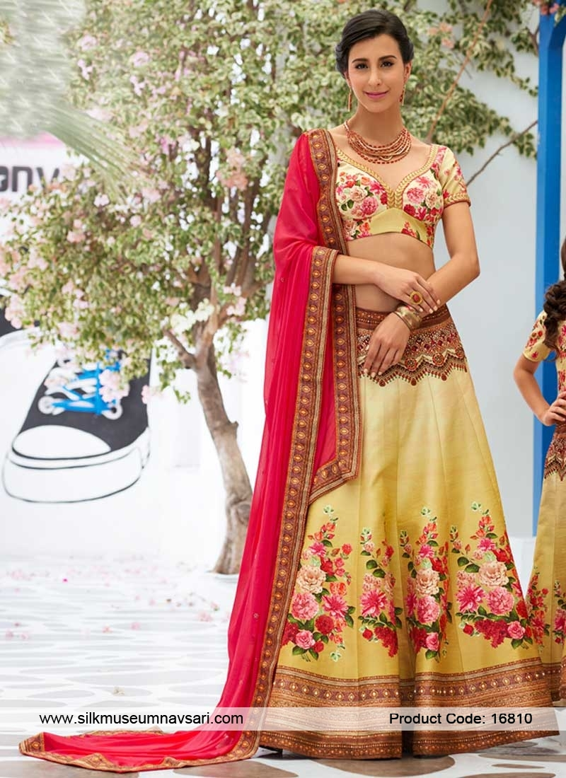 Gorgeous Multi Color Designer Lehenga Choli