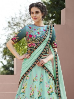 Latest Satin Silk Designer Lehenga Choli
