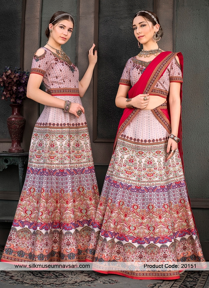Latest Thistle Colour Designer Lehenga Choli