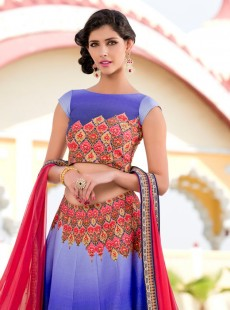 Magnificent Look Silk Printed Designer Lehenga Choli