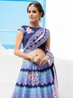 Opulent Look Silk Printed Designer Lehenga Choli
