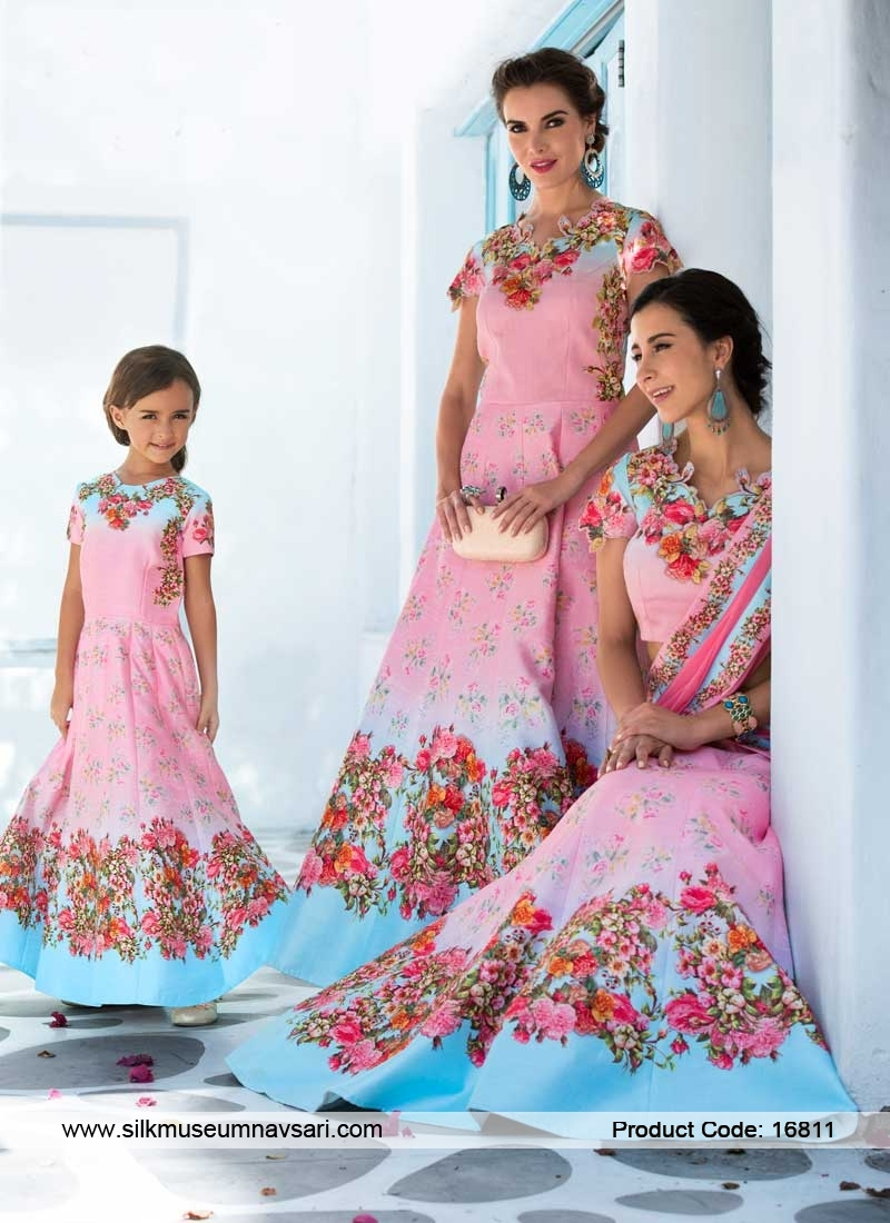 Party Flower Print Bridal Lehenga Choli