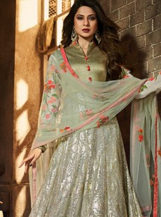 Regal Light Olive Green Designer Suit