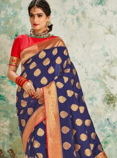 Resplendent Silk Party Wear Saree