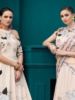 Spectacular Look Pure Silk Designer Lehenga Choli
