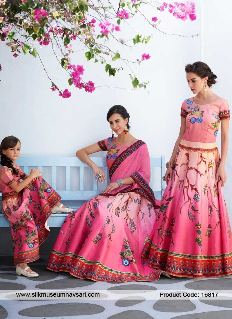 Spectacular Multi Color Lehenga Choli
