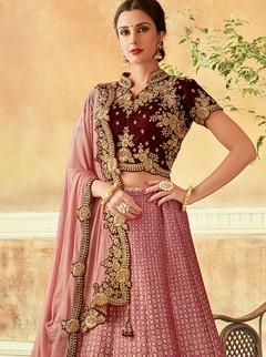 Stunning Silk Designer Lehenga Choli