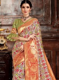 Stupendous Soft Silk Designer Saree