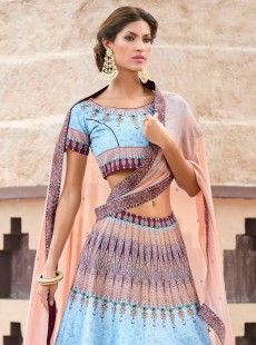 Sunshine Look Silk Party Wear Lehenga Choli