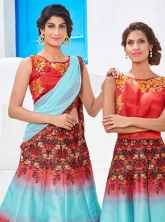Affluent Look Silk Party Wear Designer Suit