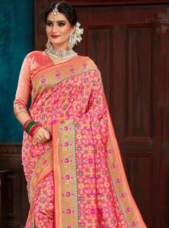 Amazing Patora Silk Print Designer Saree