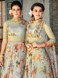 Gorgeous Organza Silk Designer Lehenga