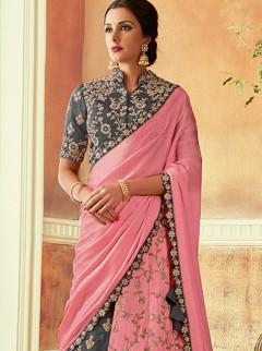 Lovely Fancy Designer Multi Colour Lehenga