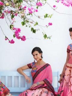 Spectacular Multi Color Lehenga Choli