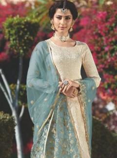 Vibrant Georgette Designer Suit